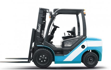 Baoli KB30D új targonca Mitsubishi motorral Alapkivitelű targoncák fúvott gumival