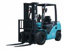 Baoli KBG35 új targonca Teherbírás: 3500 kg Emelési magasság: 3000 mm. Alapkivitelű, gázüzemű targon