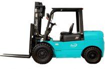 Baoli CPCD50 új targonca Teherbírás: 5000 kg Emelési magasság: 3000 mm.