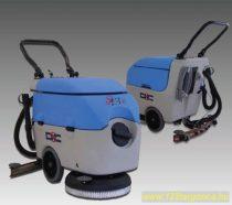 DEC S43B akkumulátoros nedves takarítógép félelektromos kivitel