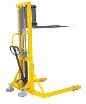 BSDJ-AS-1000 1 tonna 3000 mm támasztólábbal hidraulikus kézi emelőtargonca. Terpesztargonca 1000 kg