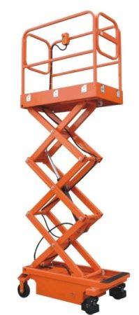 BSJY0.3-39 személyemelő, 5,9 méter munkamagasságú szerelőkosár