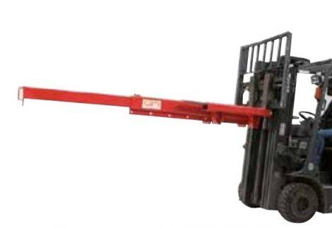 Darukar teleszkópos 2000 - 200 kg közötti teherbírás. targonca villára húzható, nem állítható magass