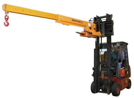 Darukar teleszkópos 2500 - 560 kg közötti teherbírás. targonca villára húzható, nem állítható magass