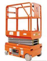 BJC PT0607 DC ollósemelő 5,9 méter munkamagasság akkumulátoros emelés és hajtás