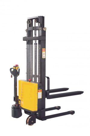PWS10S Economy gyalogkíséretű magasemelő targonca 1600 mm emelés 1000 kg teherbírás 1 év garanciával