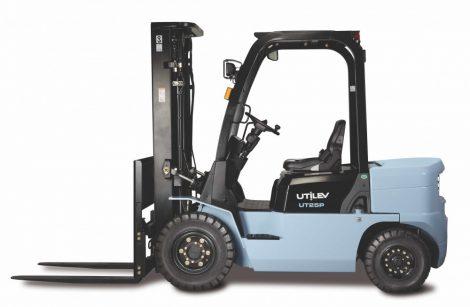 UTILEV UT35P 3,5 tonnás dízel KÉSZLETES ÚJ targonca azonnal elvihető duplex 3300mm emelési magasság
