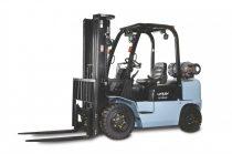 UTILEV UT35P 2,5 tonnás dízel KÉSZLETES ÚJ targonca azonnal elvihető duplex 3300mm emelési magasság