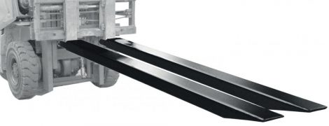 Targonca villahosszabbító - villaméret 80x40 mm 1600 vagy 1800 vagy 2000 mm 1 pár