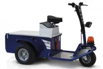Zallys Jack Master elektromos személyszállító platós vontató targonca 2500kg vonó teherbírás