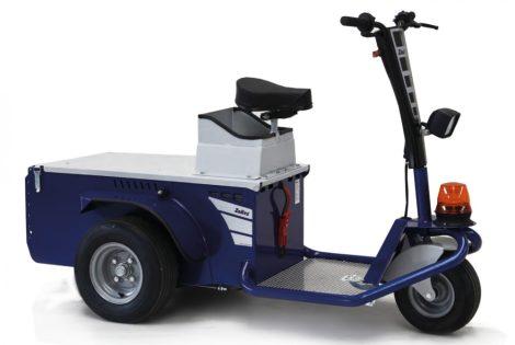vontató Zallys Jack Master elektromos személyszállító platos vontató targonca