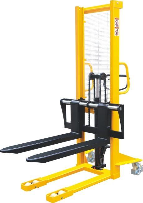 BSDJ-A-I-1500 1,5 tonna 1,6 m emelés állítható lemezvillás kézi targonca 1500 kg teherbírás 1600 mm emelés EUR raklaphoz is