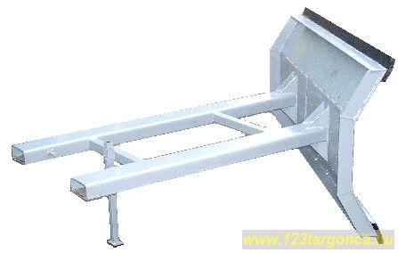 Targonca hótolólap 150 cm vagy 200 cm széles, két oldalas