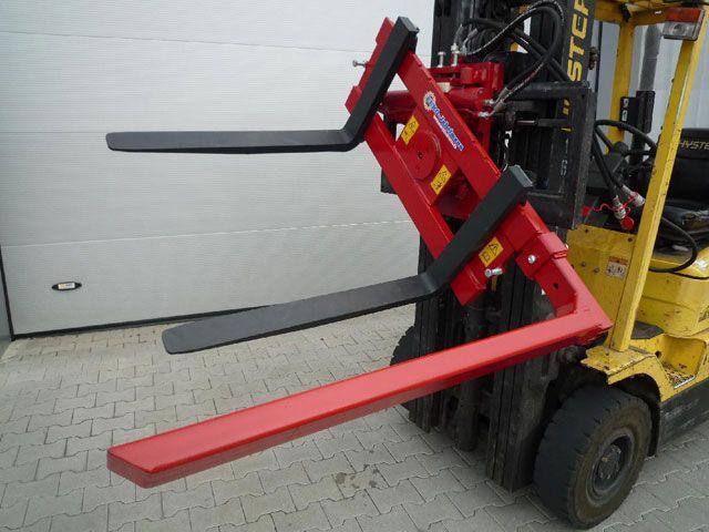 ED 180-407 új targonca villa fordító 180 fokos 1500 kg teherbírás ládaborító adapter