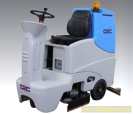 DEC RS61 akkumulátoros vezetőüléses önjáró nedves takarítógép