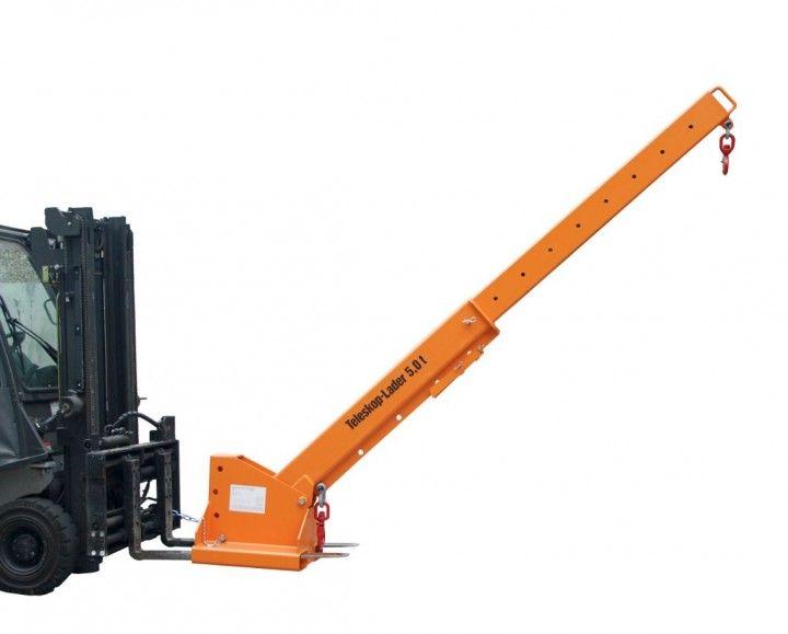 Darukar teleszkópos állítható magassággal 2500 - 560 kg közötti teherbírás. targonca villára húzható