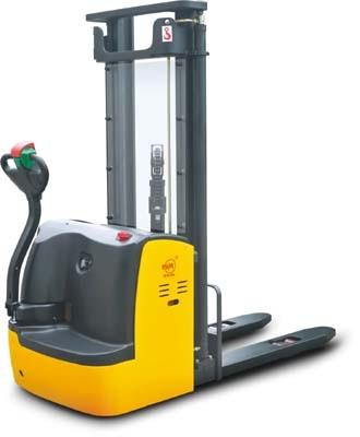 BCDDR10 gyalogkíséretű új targonca 2500 mm emelés 1000 kg teherbírás gyalogvezérlésű, 1 év garanciával !