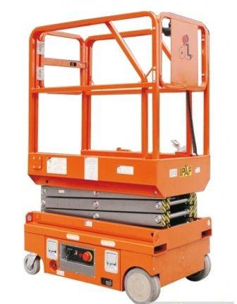 BJC PT0607 DC ollósemelő 5,9 méter munkamagasság akkumulátoros emelés és hajtás elektromos személyemelő