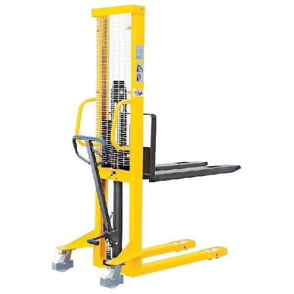 BSDJ-1030 1 tonna 3 m emelés 1 év garanciával! Hidraulikus kézi raklapemelő targonca 1000 kg teherbírás 3000 mm emelés