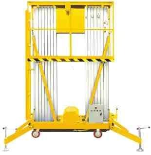 GTWY11-200S Személyemelő kosár 13 méter munkamagasság, hálózati elektromos emelés, kézi mozgatás