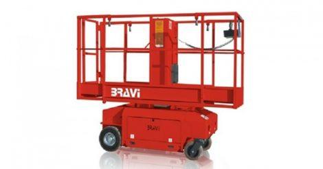Bravi Lui 460 nyitható kosaras nagy teherbírású személyemelő 6620 mm munkamagasság