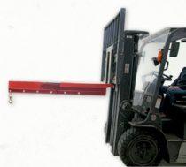 Darukar FIX 2000 - 600 kg közötti teherbírással. Targonca villára húzható