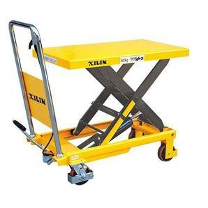 Emelőasztal SP300 300 kg teherbírás, 740 mm emelés emelő plattform, emelő lap