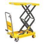 Emelőasztal SPS800 800 kg teherbírás, 1500 mm emelés, emelő plattform, emelőlap