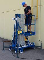 Svelt Pid szállítható személyemelő támasztó lábakkal, 7-12 méteres munkamagassággal