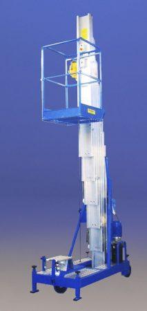Svelt Pid SP szállítható személyemelő támasztó lábakkal, 9,5-11,5 méteres munkamagassággal