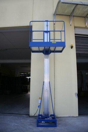 Svelt emelőplatformos lift rakodáshoz acélból vagy alumíniumból, egyedi kialakítással