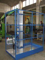 Svelt szerelőplatform egyedi magasságban acélból vagy alumíniumból