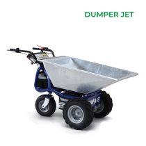 Zallys Dumper Jet elektromos nagyteherbírású talicska
