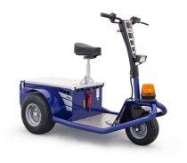 Zallys Jack 1200W elektromos személyszállító vontató targonca 750 kg vonó teherbírás