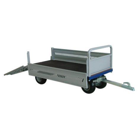 Zallys T4 utánfutó pótkocsi 1 tonna teherbírással
