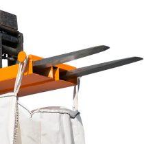 Big-bag zsák emelő targonca adapter 1 tonna teherbírással