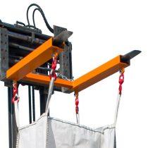 Big-bag zsák emelő targonca adapter 1.25 tonna teherbírással