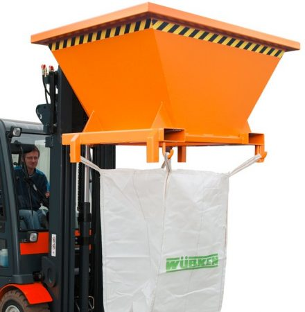 Big-bag zsák töltő villára húzható targonca adapter