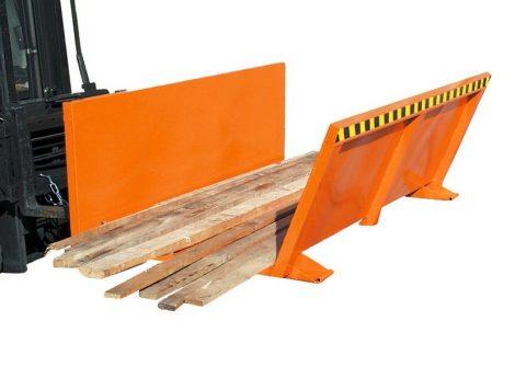Targonca villára húzható léc- és rúdszállító adapter 1 tonna teherbírással