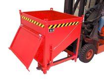 Gabonatároló siló konténer, targonca villára húzható 750-1500 kg teherbírással