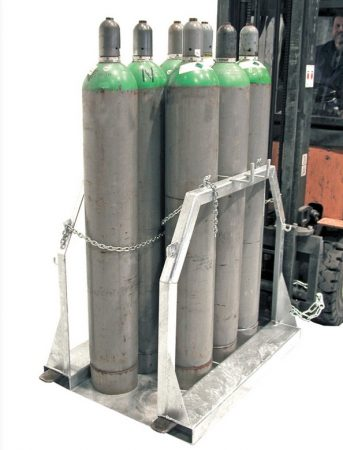 Gázpalack tartó targonca adapter
