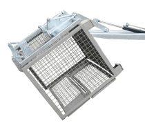 Targonca villára húzható gitterbox ürítő adapter