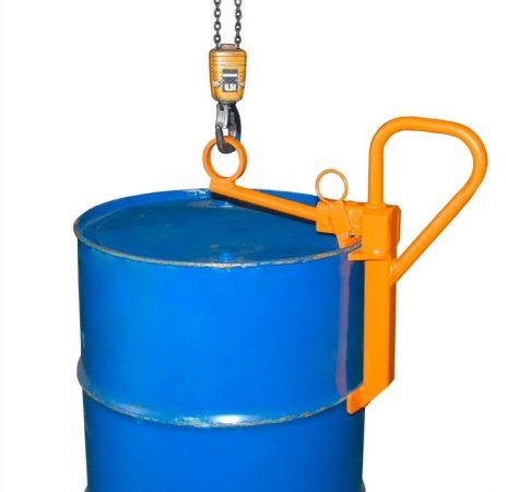 Daruzható hordófogó adapter 200 literes álló pozíciójú hordókhoz