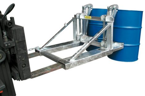 Hordófogó targonca adapter 1-2 hordóhoz