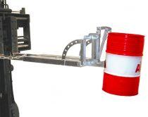 Hordófogó targonca adapter 1-2 db 60 literes acél hordóhoz