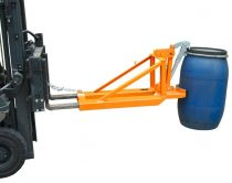 Hordófogó targonca adapter 1-2 db műanyag hordóhoz