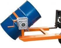 Hordóforgató targonca adapter 1 db 200 literes acél hordóhoz