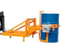 Hordóforgató targonca adapter állvánnyal, 110 - 220 literes acél és műanyag hordóhoz
