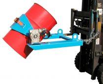 Multifunkciós hordó és tartályfogó targonca adapter 60-220 literes tartályokhoz