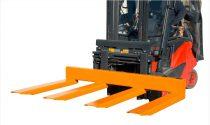 Targonca villára húzható hosszúáru szállító 1500 - 4500 kg teherbírással